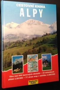 náhled knihy - Cestovní kniha alpy