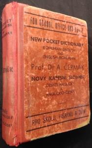 náhled knihy - Nový kapesní slovník anglicko-český a česko-anglický