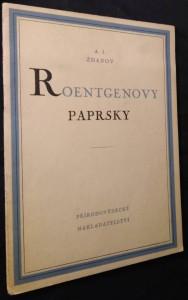 náhled knihy - Roentgenovy paprsky