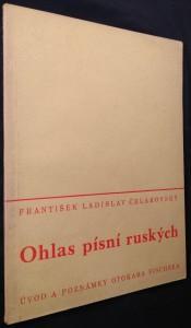 náhled knihy - Ohlas písní ruských Ohlas písní ruských