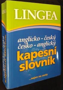 náhled knihy - Anglicko-český, česko-anglický kapesní slovní