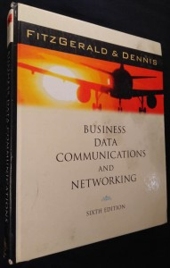náhled knihy - Business data Communications and networking