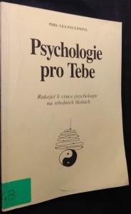 náhled knihy - Psychologie pro Tebe : rukojeť k výuce psychologie na středních školách