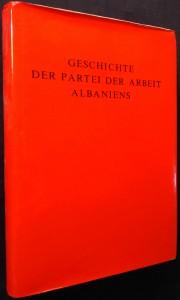 náhled knihy - Geschichte der Partei der Arbeit Albanien