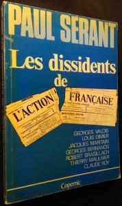 náhled knihy - Les dissidents de l'action française
