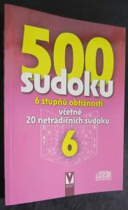 náhled knihy - 500 sudoku 6