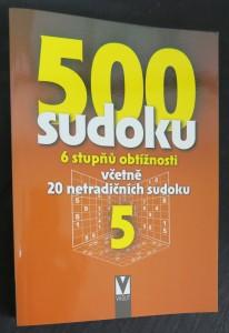náhled knihy - 500 sudoku 5