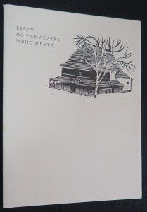 náhled knihy - Listy do památníku mého města (včetně autogramu autora)