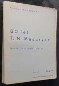 náhled knihy - 80. let T. G. Masaryka