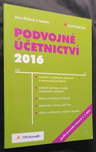 náhled knihy - Podvojné účetnictví 2016