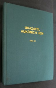 náhled knihy - Ukazatel aukčních cen : systematický souhrn výsledků knižních aukcí v ČR 1990-1994