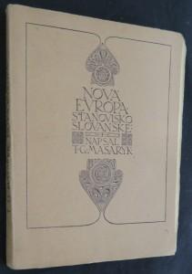 náhled knihy - Nová Evropa : stanovisko slovanské