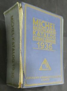 náhled knihy - Michel Briefmarken-Katalog 1936, Europa