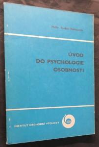 náhled knihy - Úvod do psychologie osobnosti