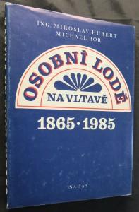 náhled knihy - Osobní lodě na Vltavě 1865-1985