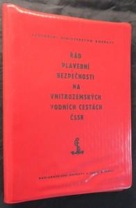 náhled knihy - Řád plavební bezpečnosti na vnitrozemských vodních cestách ČSSR