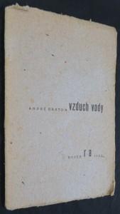 náhled knihy - Vzduch vody (výtisk číslo 7 na ručním papíře)
