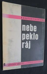 náhled knihy - Nebe, peklo, ráj (básně z let 1929-1930 v doplněném vydání)
