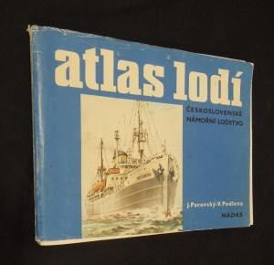 náhled knihy - Atlas lodí : československé námořní loďstvo