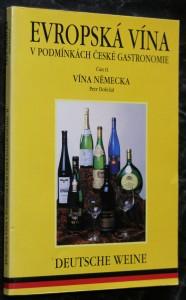 náhled knihy - Evropská vína v podmínkách české gastronomie. Část II., Vína Německa