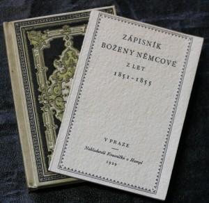 náhled knihy - Zápisník Boženy Němcové z let 1851-1855. [Díl I]