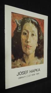 náhled knihy - Josef Hapka : obrazy z let 1938 - 1985