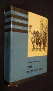 náhled knihy - Tři mušketýři : díl I.