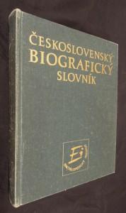 náhled knihy - Československý biografický slovník