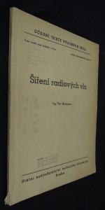 náhled knihy - Šíření radiových vln