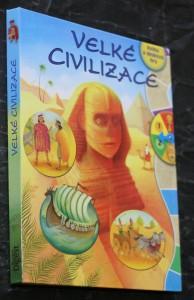 náhled knihy - Velké civilizace : [kniha a desková hra]