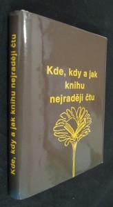náhled knihy - Kde, kdy a jak knihu nejraději čtu