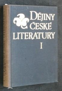 náhled knihy - Dějiny české literatury I - starší česká literatura