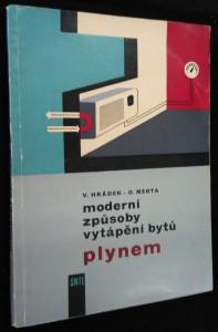 náhled knihy - Moderní způsoby vytápění bytů plynem