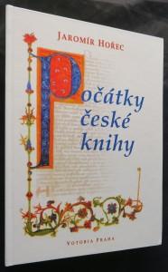 náhled knihy - Počátky české knihy (včetně věnování a autogramu autora)