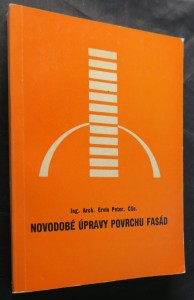 náhled knihy - Novodobé úpravy povrchu fasád