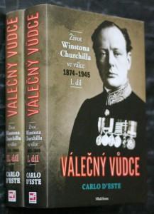 náhled knihy - Válečný vůdce : život Winstona Churchilla ve válce 1874-1945