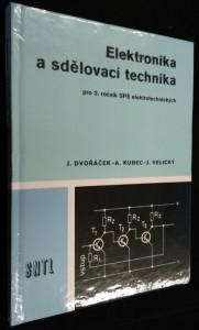 náhled knihy - Elektronika a sdělovací technika : učební text pro 3. roč. SPŠ elektrotechn.