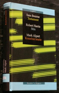 náhled knihy - Testament, Stín, Konečná teorie