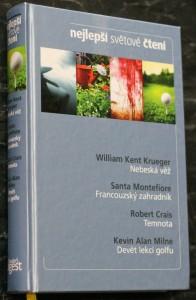 náhled knihy - Nebeská věž, Francouzský zahradník, Temnota, Devět lekcí golfu