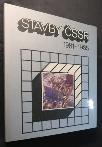 náhled knihy - Stavby ČSSR 1981 - 1985