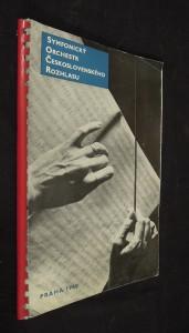 náhled knihy - Symfonický orchestr československého rozhlasu