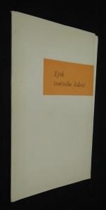 náhled knihy - Epik tvořivého lidství : (náčrt portrétu národního umělce Bohumila Říhy)