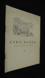 náhled knihy - Cyril Bouda : výstava ilustrací a grafiky