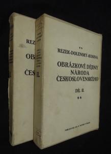 náhled knihy - Obrázkové dějiny národa československého (díl I. a II.)