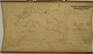náhled knihy - Mapa evropských vodních cest 1 : 2 000 000