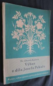 náhled knihy - Výbor z díla Josefa Pekaře