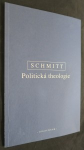 náhled knihy - Politická theologie : čtyři kapitoly k učení o suverenitě