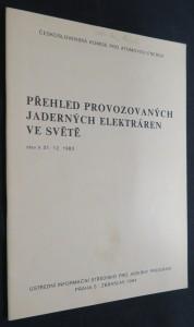 náhled knihy - Přehled provozovaných jaderných elektráren ve světě : Stav k 31. 12. 1983