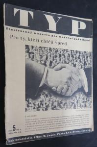 náhled knihy - Typ, číslo 5, ročník IX., květen 1935