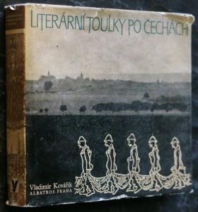 náhled knihy - Literární toulky po Čechách